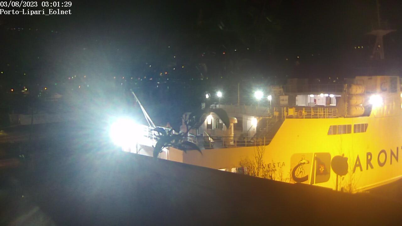 Webcam Lipari, Porto - Eolnet
